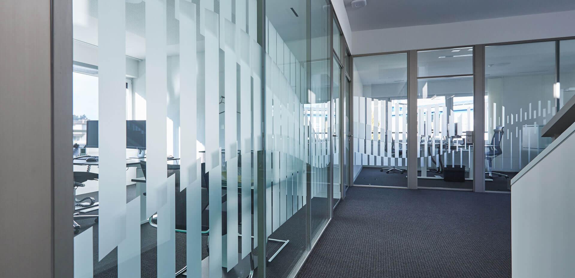 signvision.ch – Sichtschutz / Glasdekor