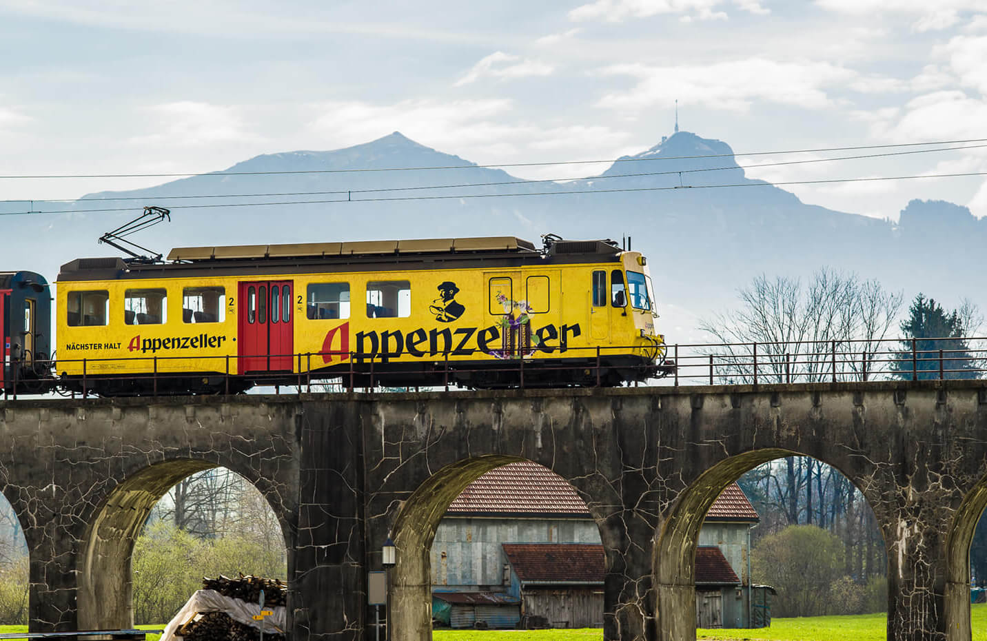 signvision.ch – Appenzeller auf Appenzeller-Lok