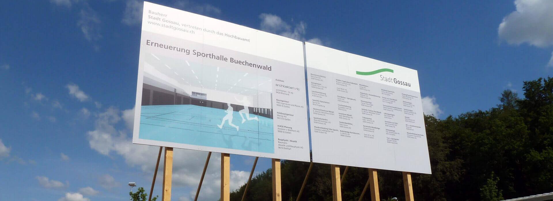 signvision.ch – Baureklamen